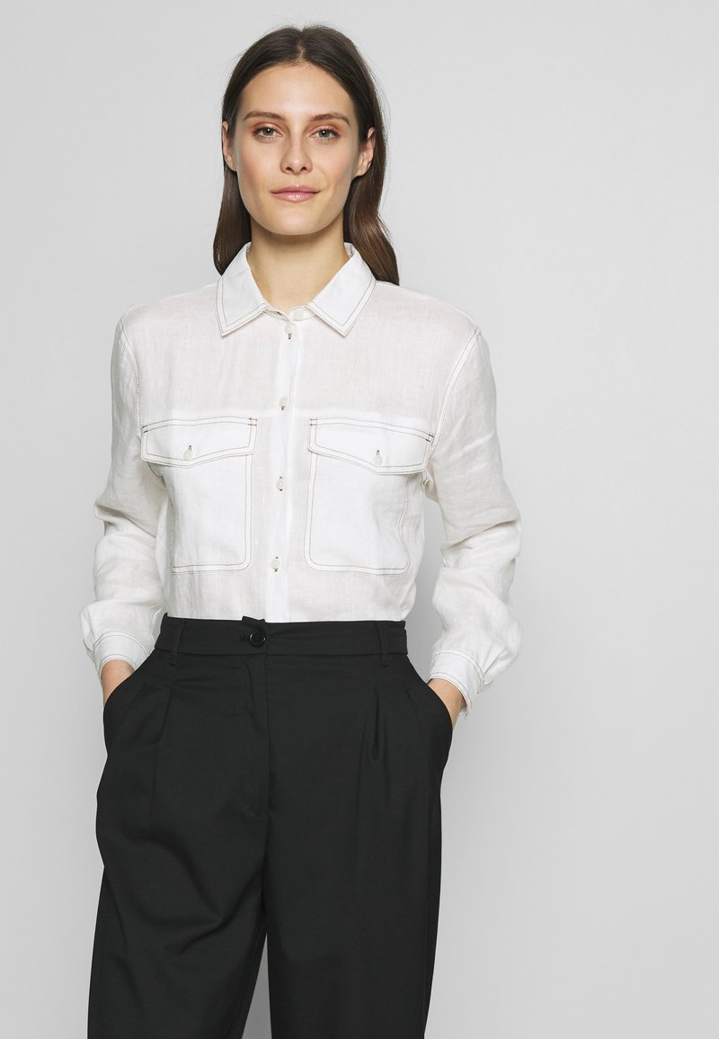 Gerry Weber Casual - 1/1 ARM - Button-down blouse - off-white