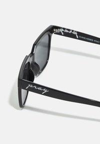 Urban Classics - SUNGLASSES PRAY UNISEX - Sunglasses - black - 2