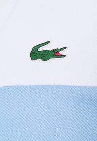 Lacoste Sport - TENNIS BLOCK - Poloshirt - white/nattier blue - 2