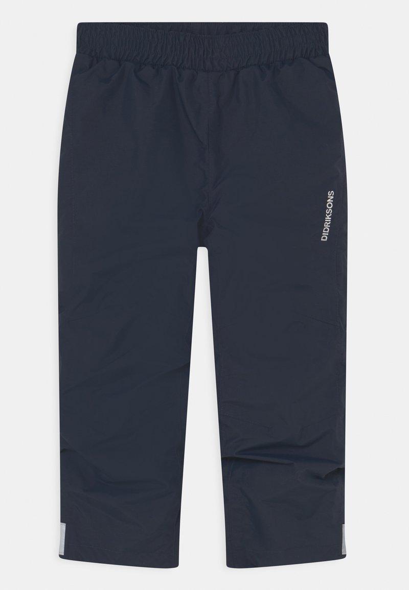 Didriksons - NOBI KIDS UNISEX - Rain trousers - navy