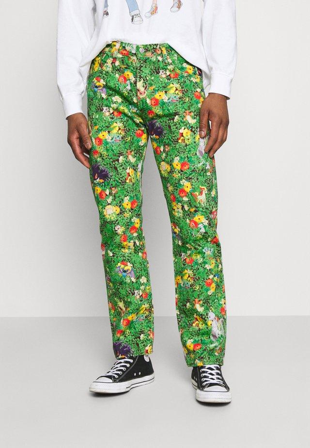 LEVI'S® X POKÉMON 551Z™ AUTHENTIC STRAIGHT UNISEX - Jeans a sigaretta - multicolor