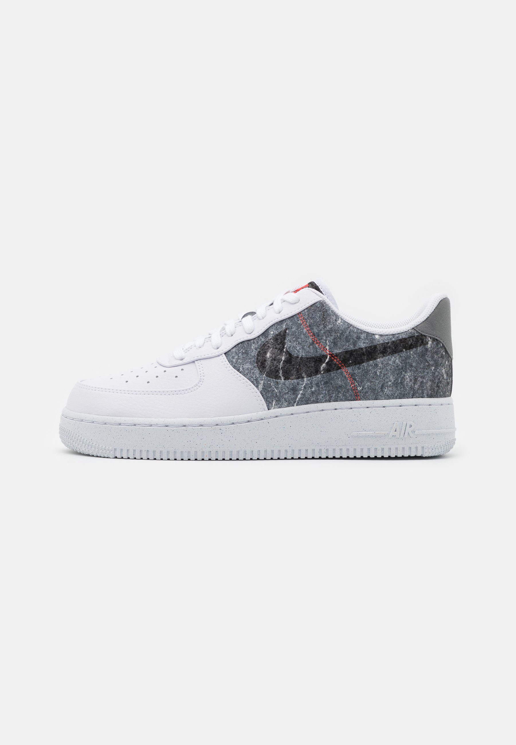 Nike Sportswear Air Force 1 07 Lv8 Sneakers Laag White Clear Light Smoke Grey Black Wit Zalando Nl
