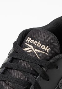 Reebok Classic - COURT DOUBLE MIX - Trainers - black/white/panton - 2