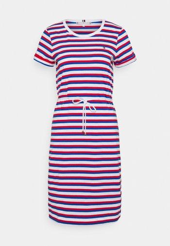 COOL SHIFT SHORT DRESS  - Jersey dress - ombre/fireworks