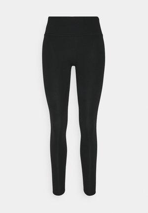 ONE LUXE - Collants - black