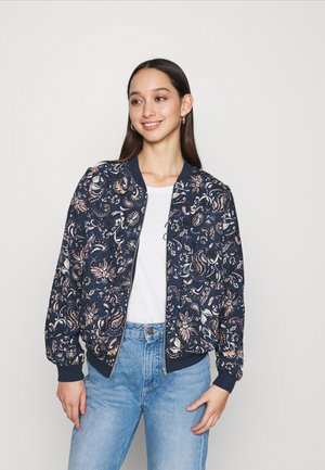 VMLALLIE - Bomber Jacket - navy