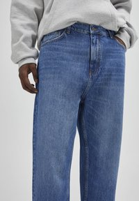 PULL&BEAR - Jeans relaxed fit - mottled blue - 3