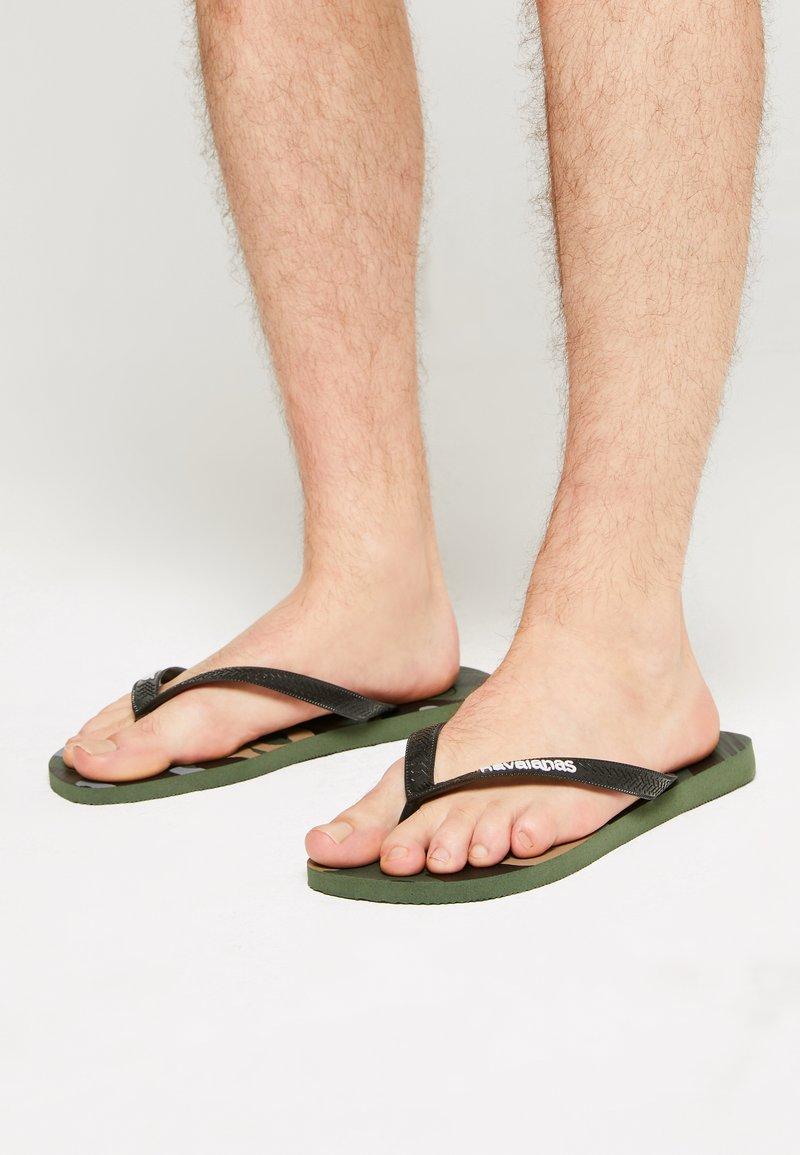 Havaianas - UNISEX - Flip Flops - green olive