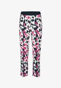 Alba Moda - Trousers - wollweiß,pink,marineblau - 2