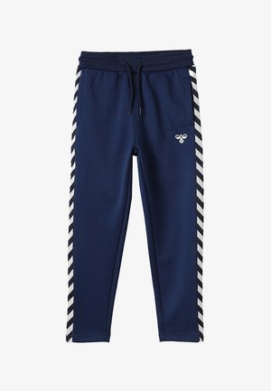 HMLKICK - Tracksuit bottoms - black iris