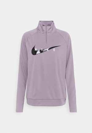 RUN MIDLAYER - Treningsskjorter - purple smoke/black