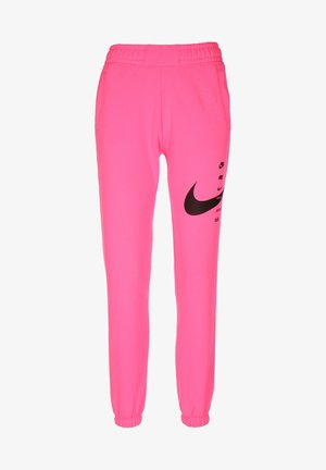 PANT - Tracksuit bottoms - pink glow/black