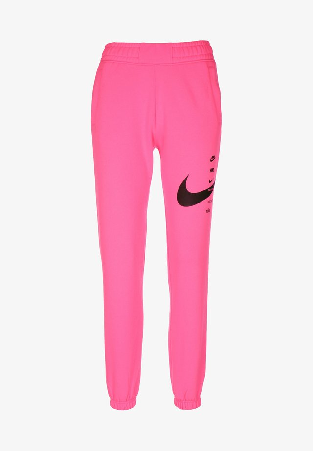 PANT - Tracksuit bottoms - pink glow/black
