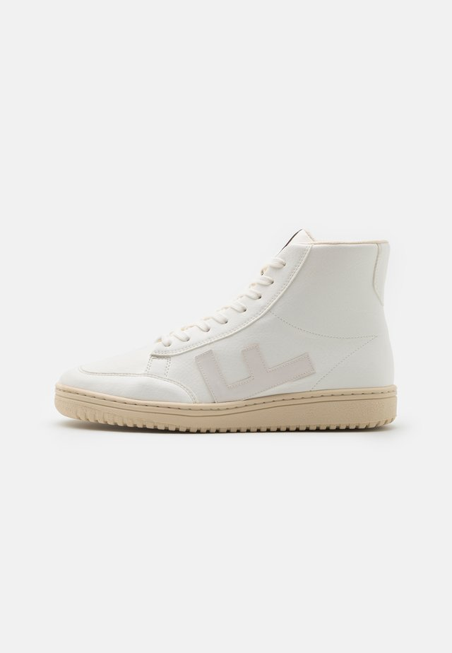 OLD 80'S UNISEX - Sneaker high - all white monocolor