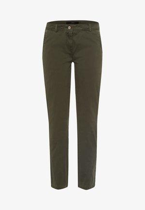 SLIM FIT  - Trousers - dark basil