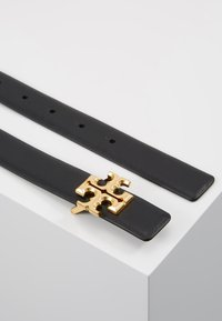 Tory Burch - KIRA LOGO BELT - Belt - black/gold-coloured - 2