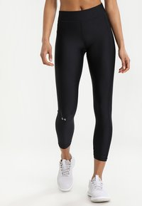 Under Armour - ANKLE CROP - Tights - black - 0