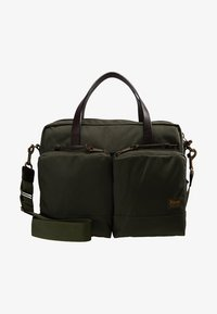 Filson - DRYDEN BRIEFCASE - Attachetasker - ottergreen - 5