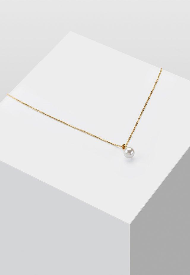 KETTE PERLE - Collana - gold-coloured