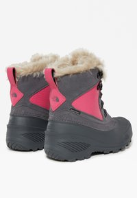 The North Face - Y SHELLISTA EXTREME - Winter boots - zinc grey/mr. pink - 3