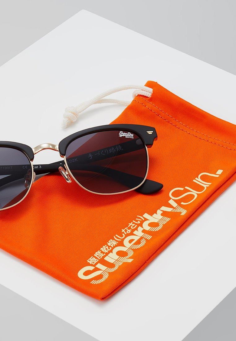 Superdry LEO - Sonnenbrille - black/amber/schwarz - Herrenaccessoires QZmR4
