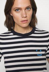 Marc O'Polo DENIM - SHORT SLEEVE STRIPE - Print T-shirt - multi/scandinavian blue - 3