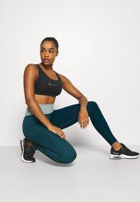 Nike Performance - ONE LUXE - Leggings - dark teal green - 3