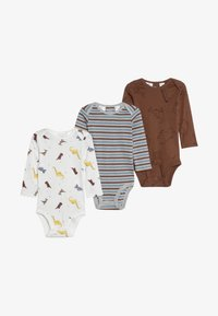 Carter's - BOY ANIMAL BABY 3 PACK - Body - multi-coloured - 3