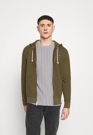 NEW ORIGINAL ZIP UP - Felpa aperta - olive night