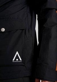 Wearcolour - ROAM JACKET - Snowboardjakke - black - 7