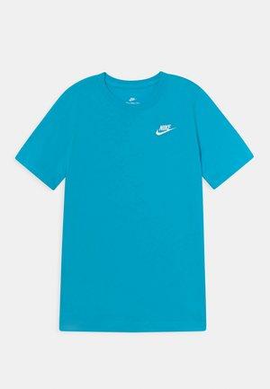 FUTURA TEE - Jednoduché triko - chlorine blue