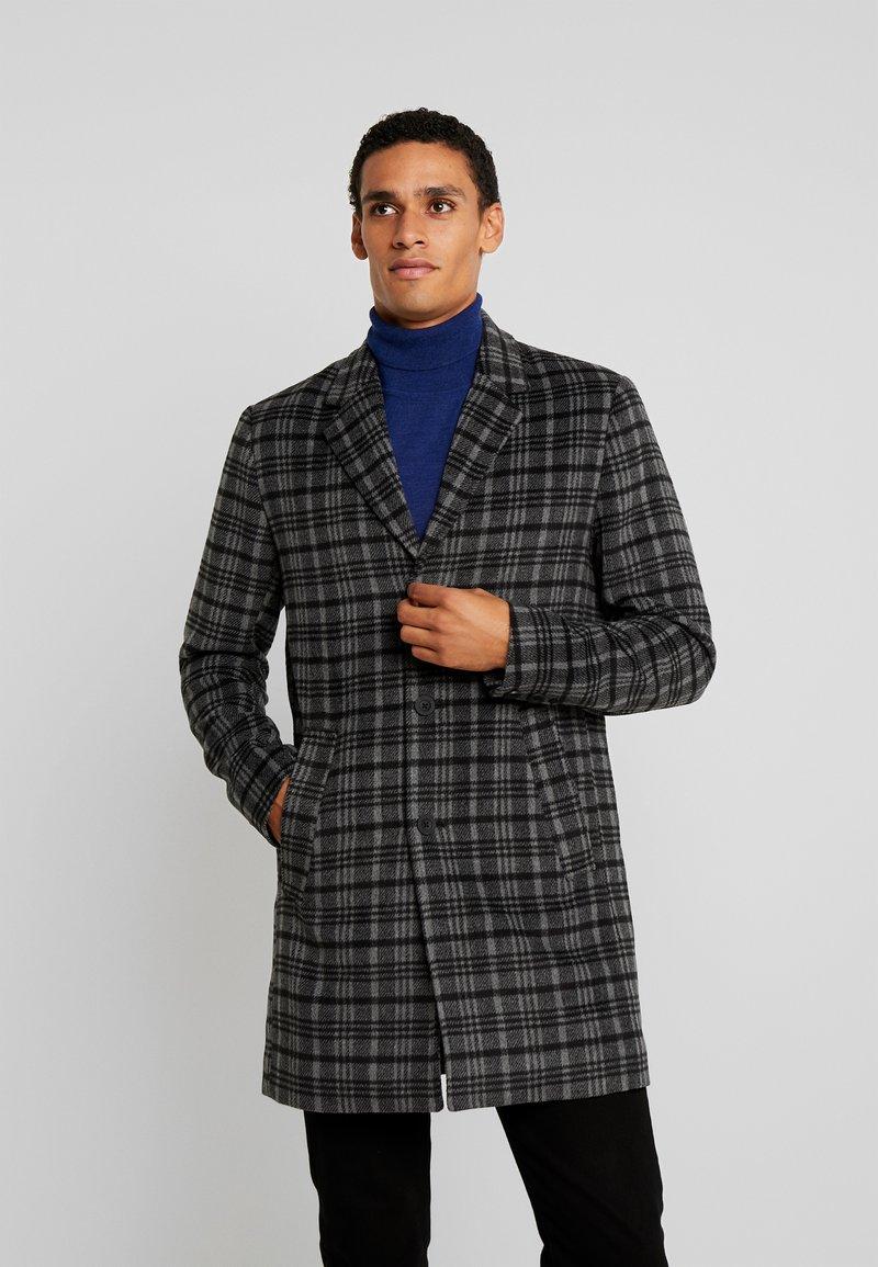 Solid - JACKET  - Halflange jas - grey