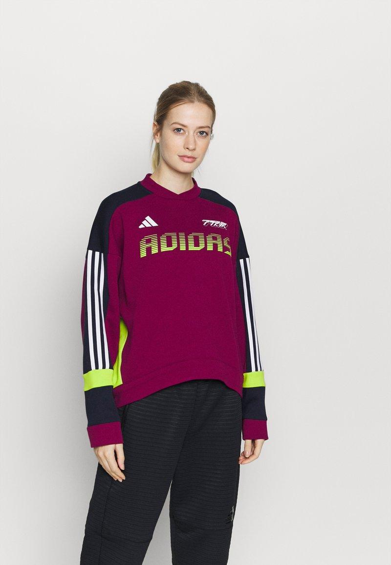 adidas Performance - URBAN CREW - Sweatshirt - berry