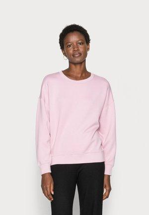 Sweatshirt - dawn pink