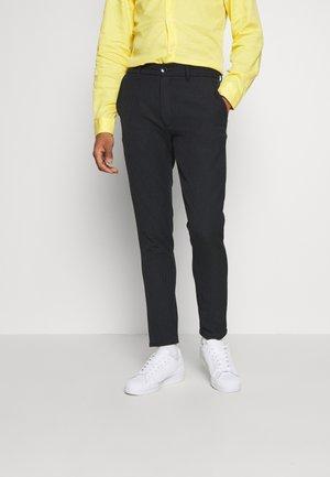 Trousers - dark saphire