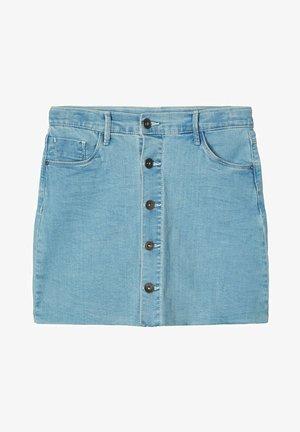 Jeansnederdel/ cowboy nederdele - light blue denim