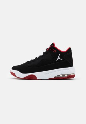 MAX AURA UNISEX - Basketball shoes - black/white/gym red