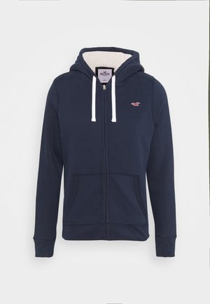 veste en sweat zippée - navy
