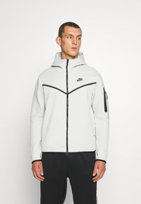 Nike Sportswear - Hoodie - light bone/black - 0
