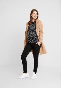 Esprit Maternity - PANTS - Spodnie materiałowe - black - 1