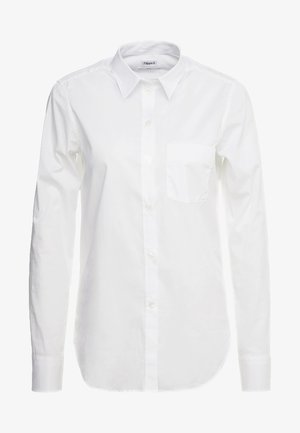 CLASSIC - Button-down blouse - white