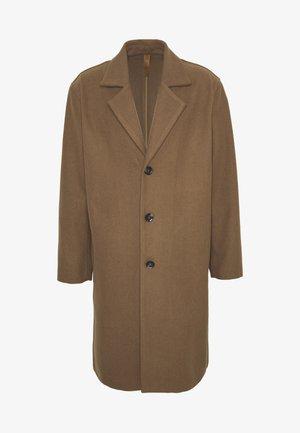 BENOY - Classic coat - tobacco brown