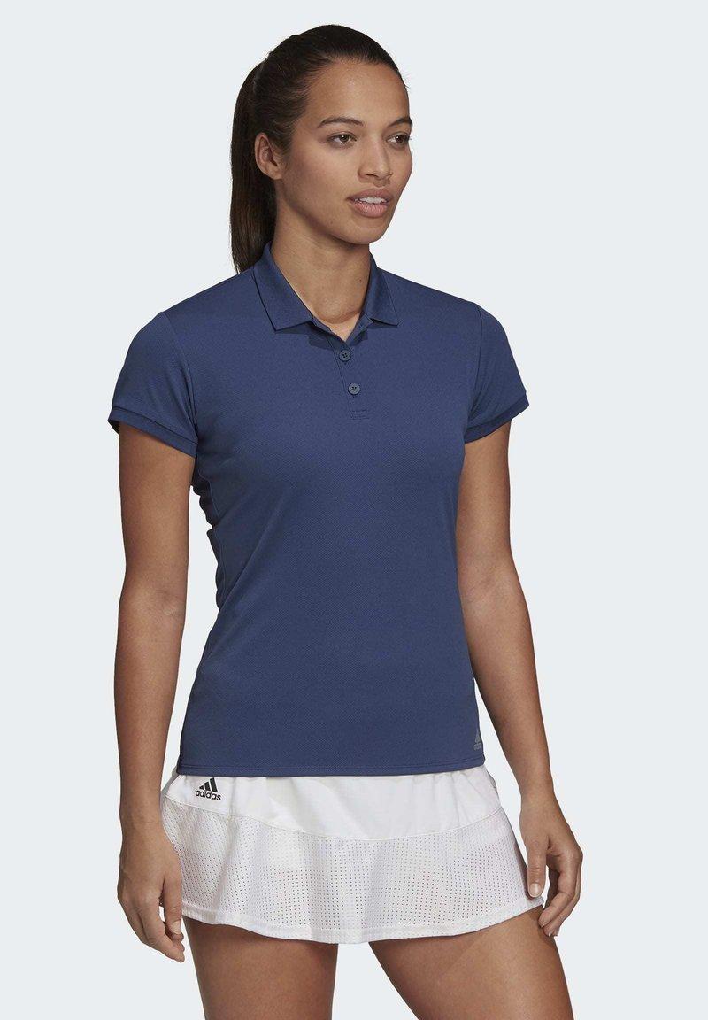 adidas Performance - CLUB POLO SHIRT - Polo shirt - blue