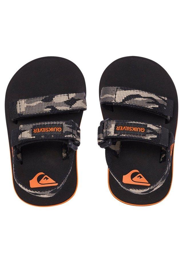 MONKEY CAGED - Walking sandals - green/black/green