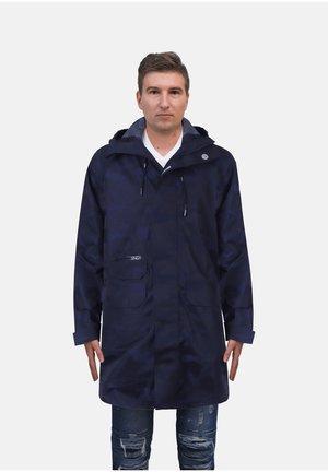 Waterproof jacket - blue black