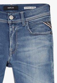 Replay - HYPERFLEX STRECH  - Jeans Skinny Fit - light blue denim - 4
