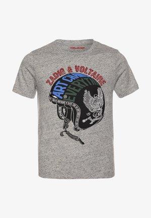 SHORT SLEEVES  - T-shirt print - chine grey