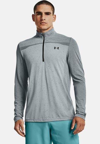 Long sleeved top - mod gray