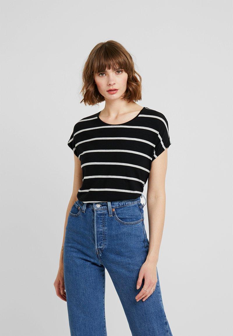 Vero Moda - VMAVA  - T-shirt imprimé - black