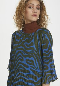 Denim Hunter - DHZITHA  - Blouse - blue zebra print - 4